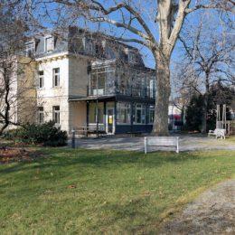 Villa Augustin Dresden Bürostandort Ruairí O'Brien. Architektur. Licht. Raumkunst. und Ruairí O'Brien. Lichtdesign.