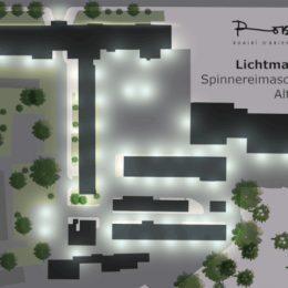 Lichtmasterplan Spinnereimaschinenbau Chemnitz by Ruairí O'Brien