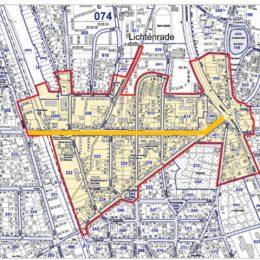Lichtkonzept Berlin-Lichtenrade Stadtplan