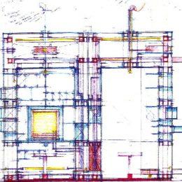 Konzept für eine Begehbare Vitrine im Deutschen Hygiene-Museum entwickelt von Ruairí O'Brien.