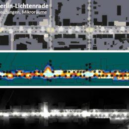 Die Beleuchtete Bahnfostraße Berlin Lichtenrade
