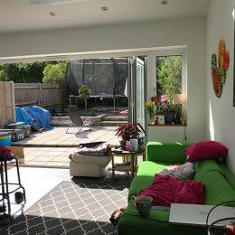 Inneneinrichtung Wohnhaus London Wohnbereich.