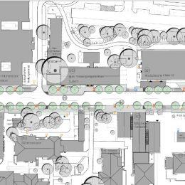 Lageplan des Universitätsklinikums Dresden