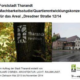 Machbarkeitsstudie für die Forststadt Tharandt. Präsentation der Ergebnisse von Ruairí O'Brien