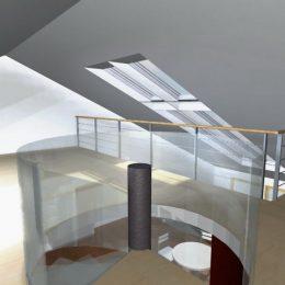 Obere Etage eines Wohnhauses in Freiberg