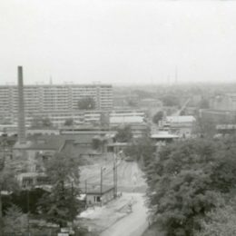 Die ehemalige Betonfabrik in Dresden Johannstadt.